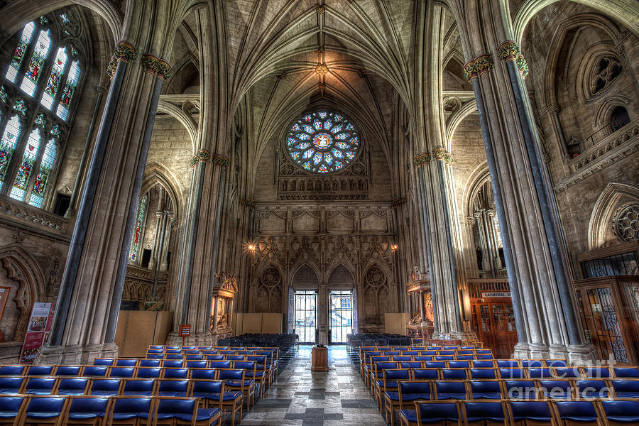 Architecture Photograph - Church of England by Adrian Evans