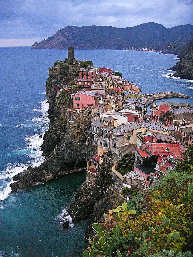 Architecture Photograph - Cinque Terre Italy Fine Art Print by Ian Stevenson