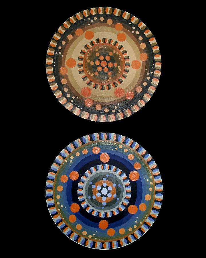 Circles Painting by Kate Fortin