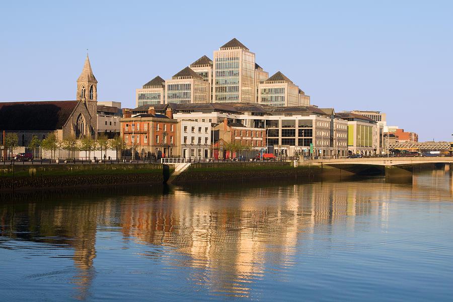 Architecture Photograph - City Of Dublin by Artur Bogacki