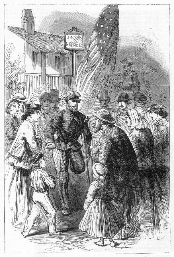 1867 Photograph - Civil War: Veteran, 1867 by Granger