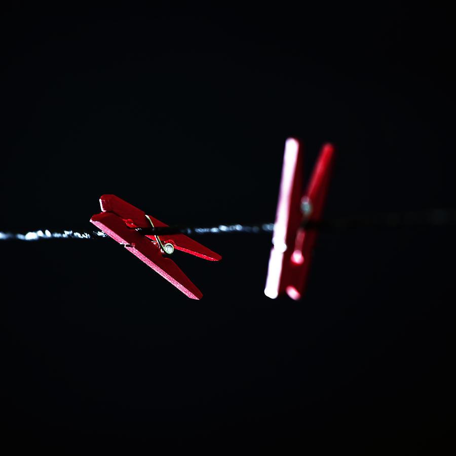 Clothespin Photograph - Cloth Pegs by Joana Kruse