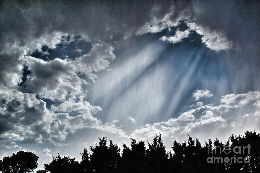 2012 Photograph - Clouds And Sky by Matt Suess