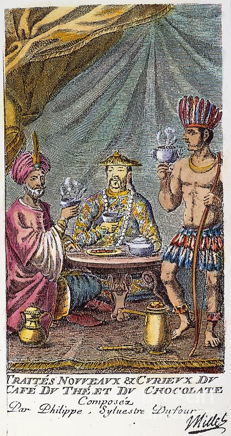 1685 Photograph - Coffee, Tea & Chocolate, 1685 by Granger