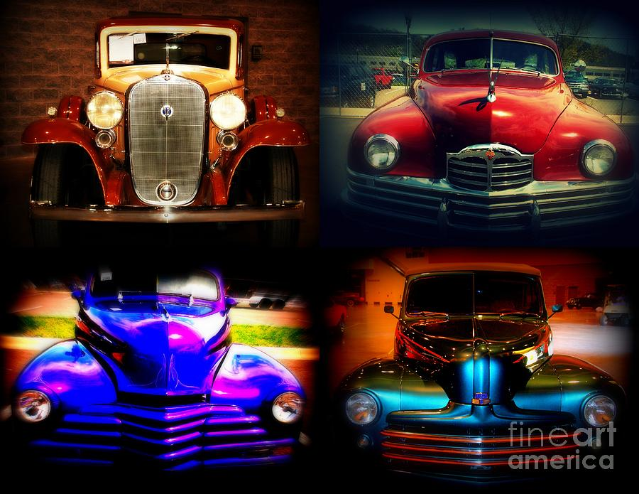 Old Timer Photograph - Collector Cars by Susanne Van Hulst