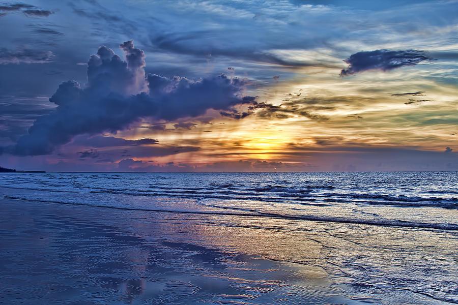 Beach Photograph - Color Of Light by Douglas Barnard