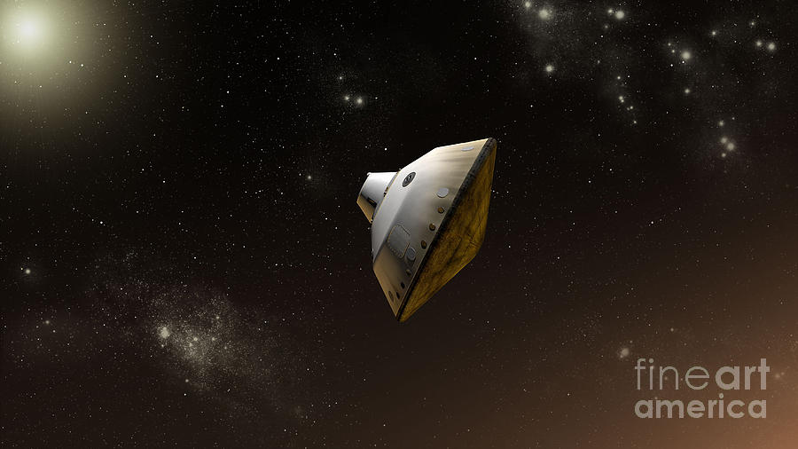 Outer Space Digital Art - Concept Of Nasas Mars Science by Stocktrek Images