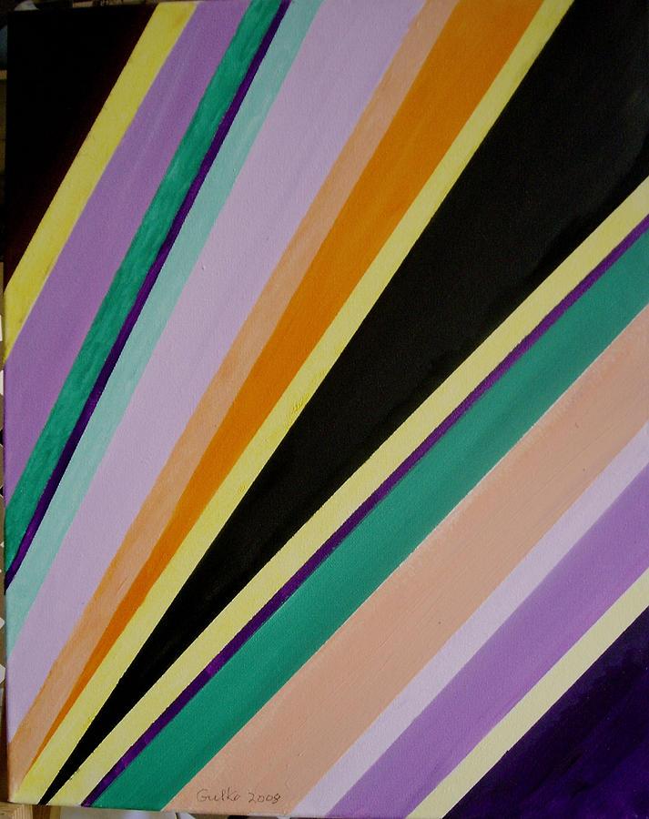 Converging Triangles by Harris Gulko