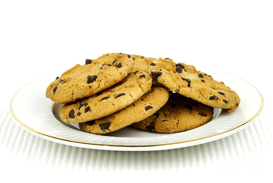 Cookies Photograph - Cookies by Blink Images