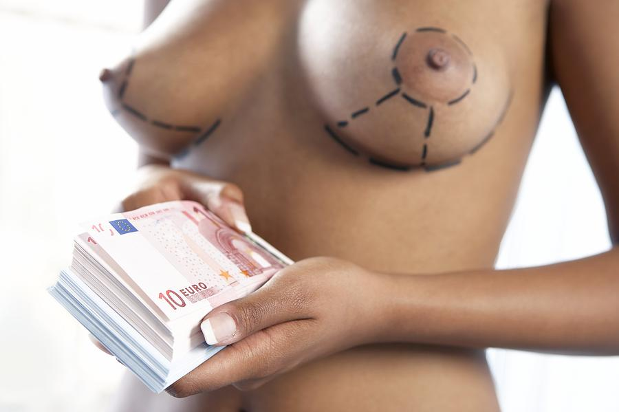 Euro Photograph - Cosmetic Breast Surgery by Adam Gault