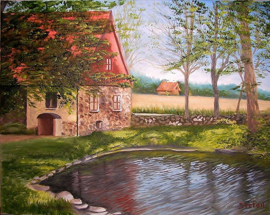 Country Life Painting - Country Life by Stefon Marc Brown