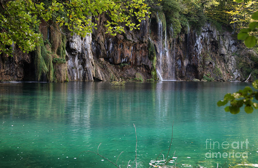Plitvice Photograph - Croatia by Milena Boeva