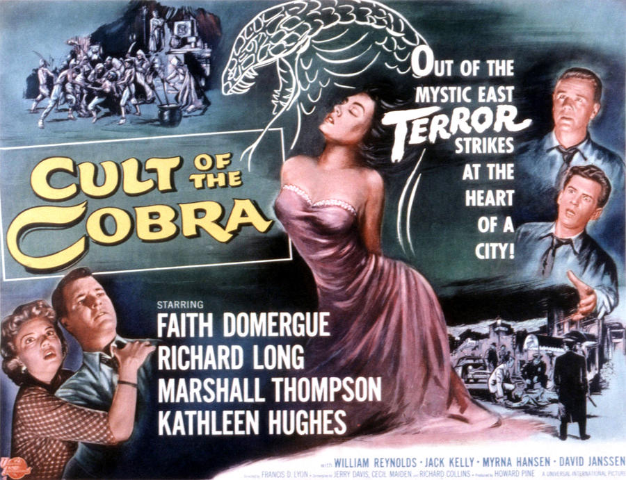 1950s Movies Photograph - Cult Of The Cobra, Marshall Thompson by Everett