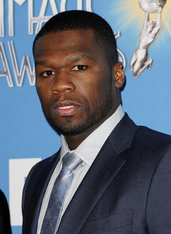 Curtis Jackson Photograph - Curtis Jackson, Aka 50 Cent by Everett