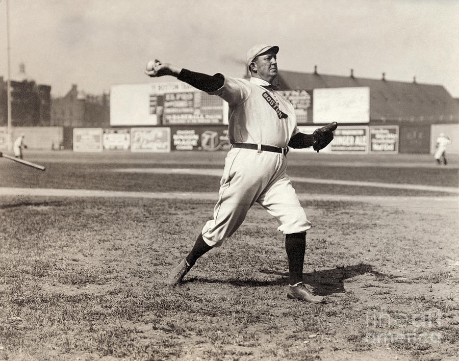 1908 Photograph - Cy Young (1867-1955) by Granger