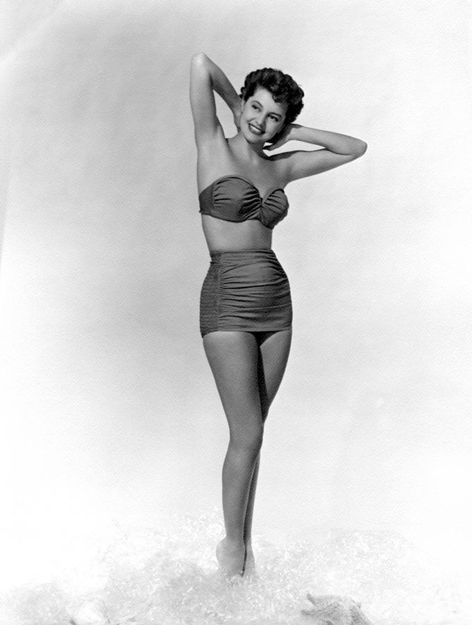 11x14lg Photograph - Cyd Charisse, Ca. 1950s by Everett