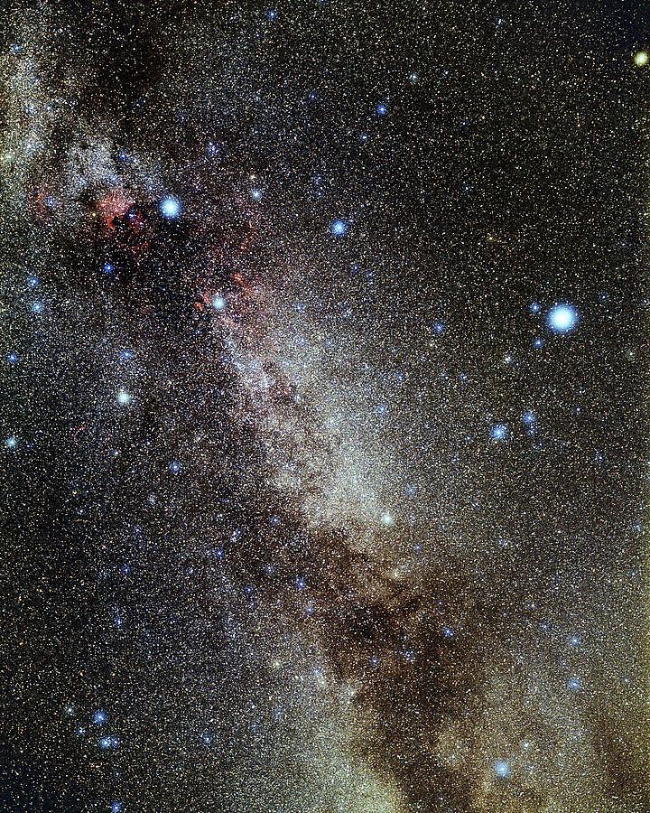 Deneb Photograph - Cygnus And Lyra Constellations by Eckhard Slawik