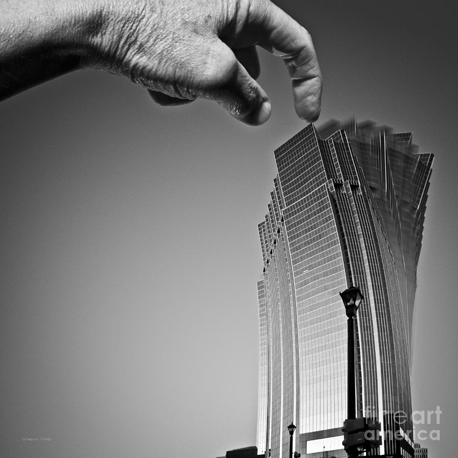 Architecture Photograph - Damn Giants by Gordon Wood
