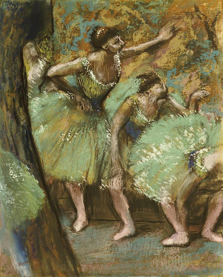 Dancers Pastel by Edgar Degas