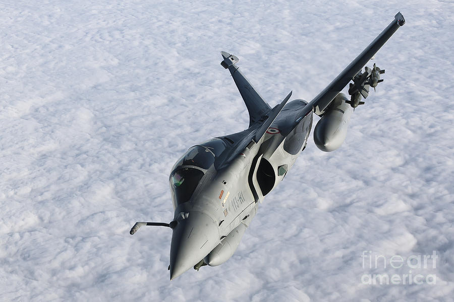 French Air Force Photograph - Dassault Rafale B Of The French Air by Gert Kromhout