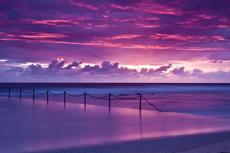 Landscape Photograph - Dawn Fire by I Take Thee Photography