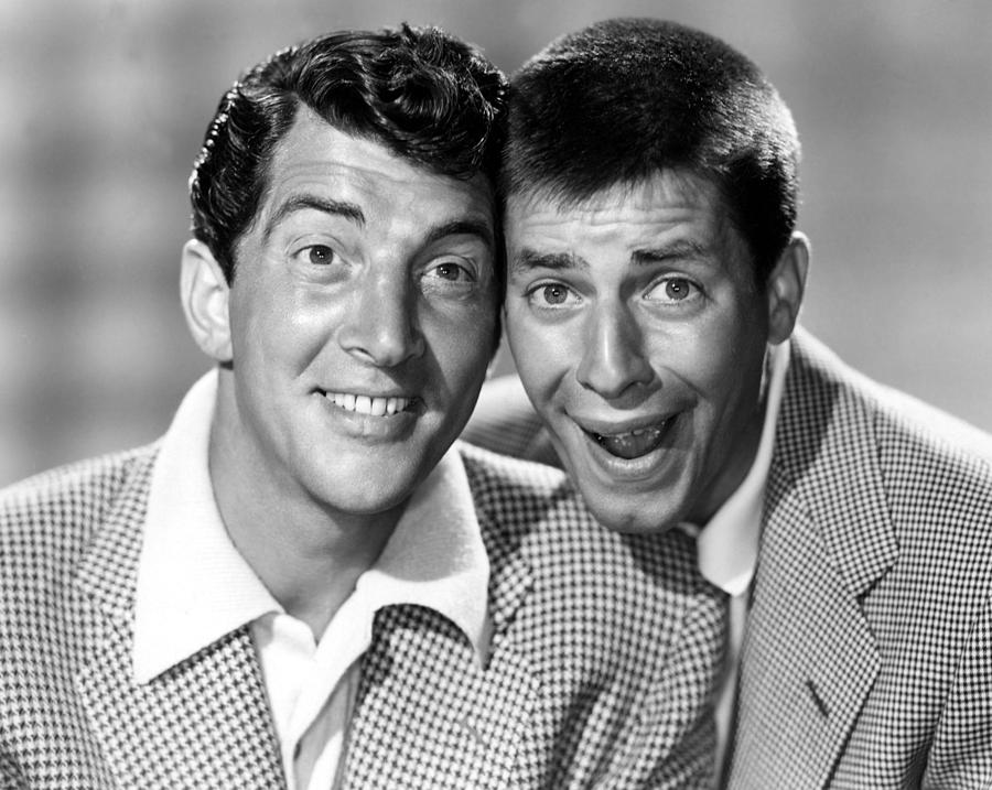 Comedy Team Photograph - Dean Martin And Jerry Lewis, C. Early by Everett