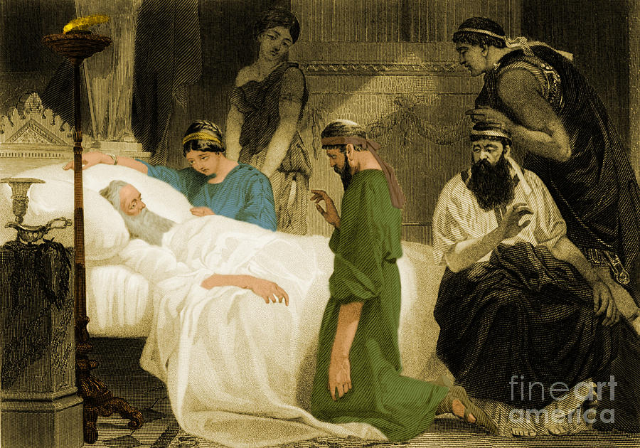death of pericles ancient greek ruler photograph by photo