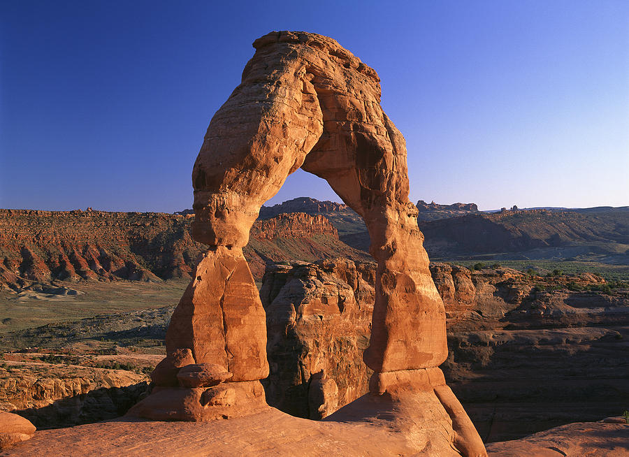 Delicate Arch In Arches National Park Photograph by Tim Fitzharris