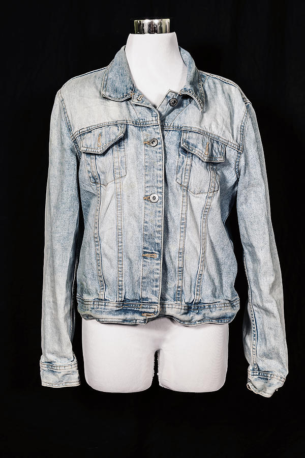 Jeans Photograph - Denim Jacket by Joana Kruse