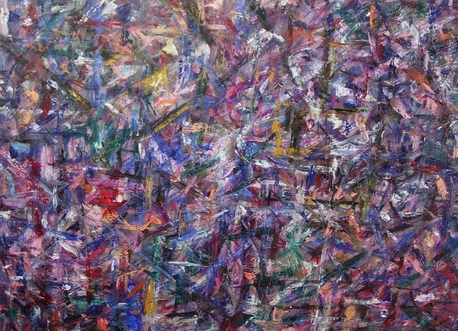 Abstract Painting - Depths And Expansion by Beverly Smith