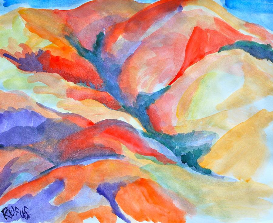 Desert Painting - Desert Landscape by Rufus Norman