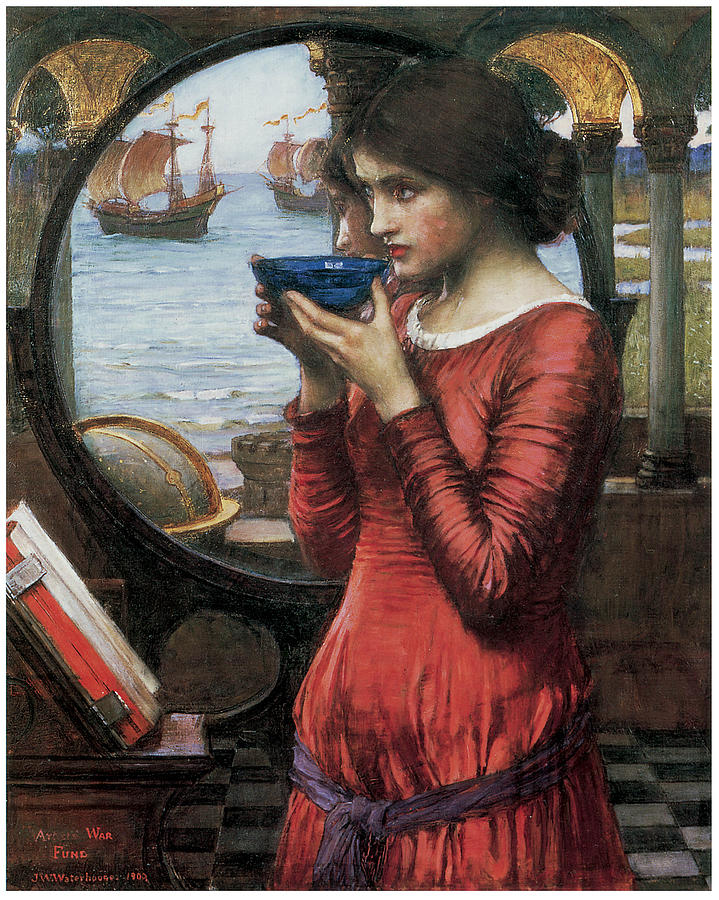 John William Waterhouse Painting - Destiny by John William Waterhouse