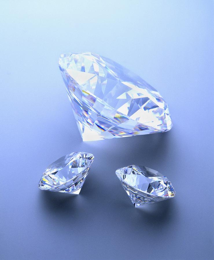 Diamond Photograph - Diamonds by Lawrence Lawry