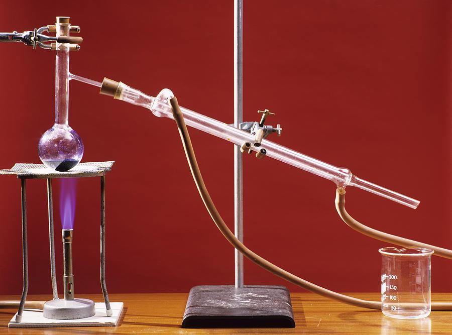 Distillation Apparatus Photograph By Andrew Lambert