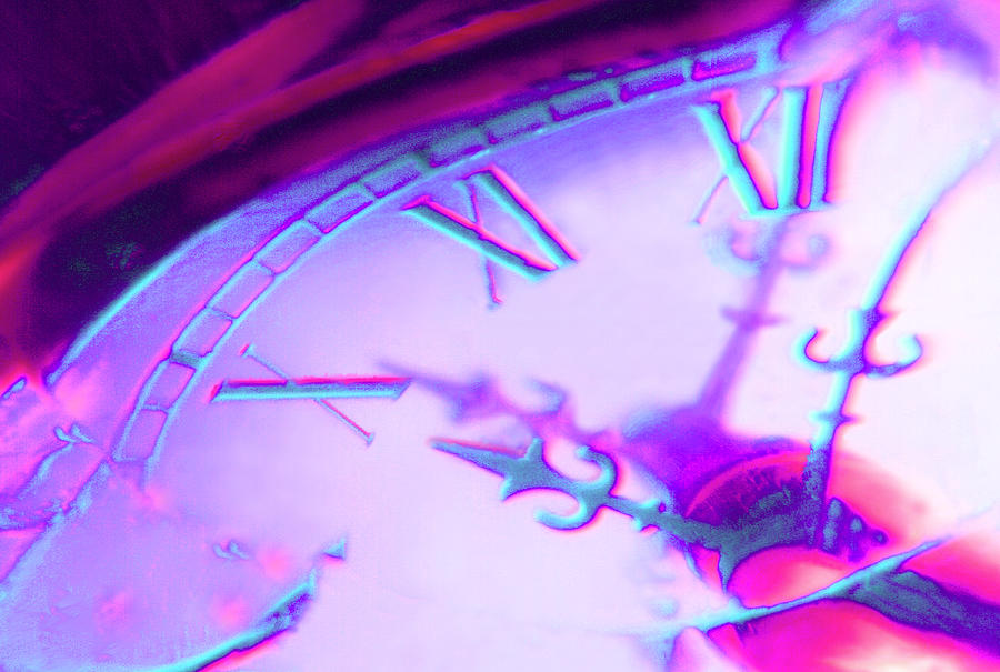 Distorted Time Photograph - Distorted Time by Mike McGlothlen