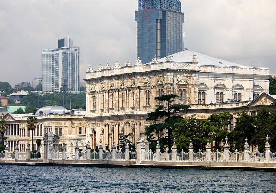 Architectural Photograph - Dolmabahce Palace In Istanbul by Artur Bogacki