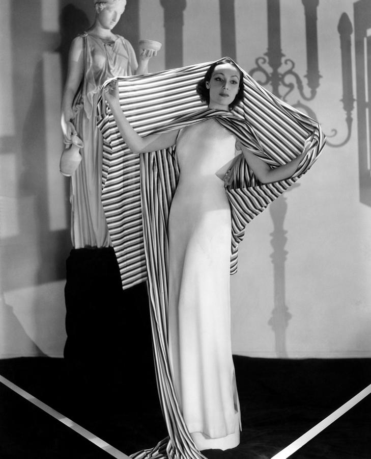 1930s Fashion Photograph - Dolores Del Rio, Ca. 1930s by Everett