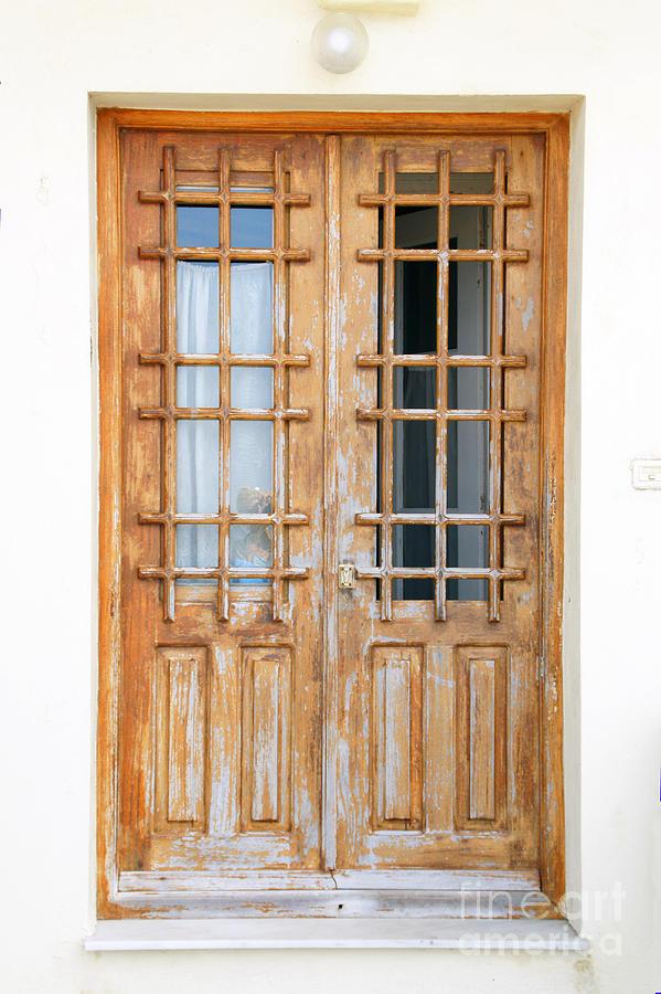 Samos Photograph - Doors In Greece by Maria Varnalis