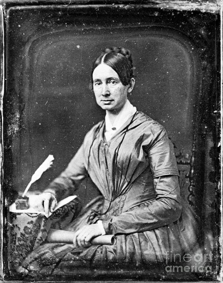 1848 Photograph - Dorothea Dix (1802-1887) by Granger