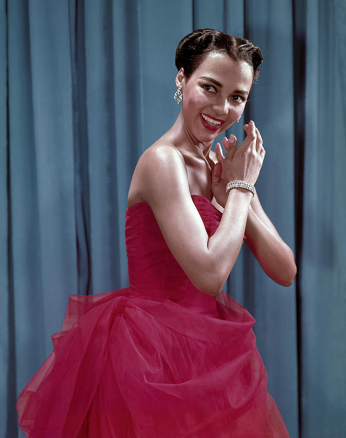 1950s Fashion Photograph - Dorothy Dandridge, 1954 by Everett