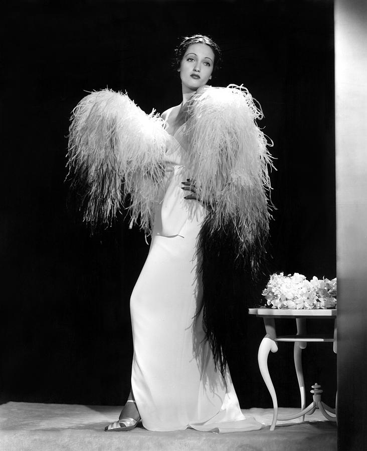 1930s Fashion Photograph - Dorothy Lamour, Paramount Pictures, 1937 by Everett