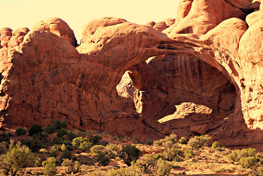 Arches National Park Photograph - Double Arch by Marty Koch