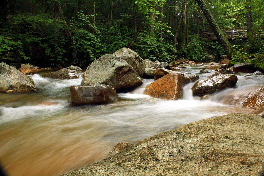 River Photograph - Downstream At The Basin by David Gilman
