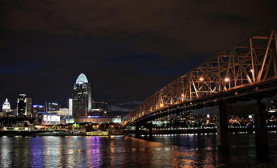 Downtown Photograph - Downtown Cincinnati by Tina Karle