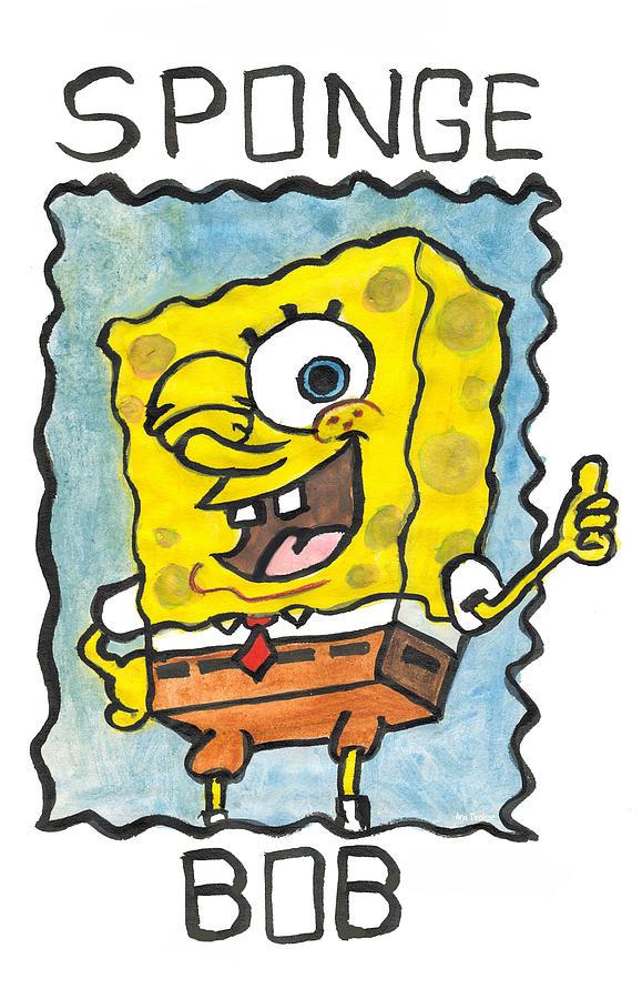 Draw a Sponge by Ana Tirolese