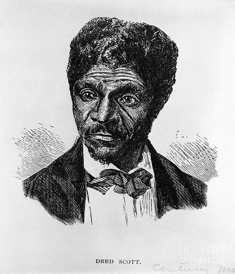 History Photograph - Dred Scott, African-american Hero by Photo Researchers