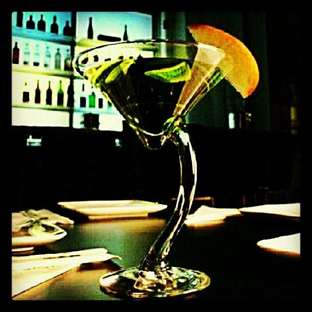 Vodka Photograph - Drink Of The Day...sour Apple Martini by Mary Carter