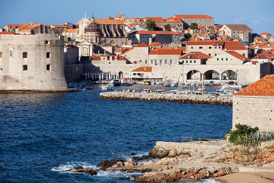 Dubrovnik Photograph - Dubrovnik Old City Architecture by Artur Bogacki