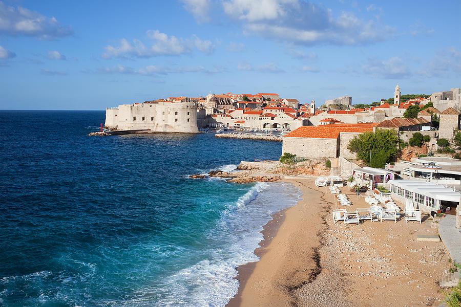 Dubrovnik Photograph - Dubrovnik Scenery by Artur Bogacki
