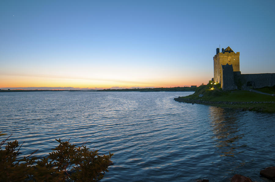 Dungaire Castle Sunset by Earl Bowser